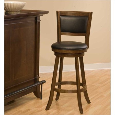 "Hillsdale Dennery 29"" Swivel Bar Stool - Cherry"
