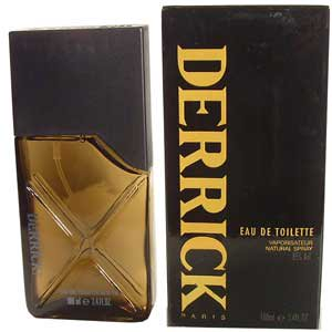 DERRICK Black by Orlane 3.4 oz EDT eau de toilette Men
