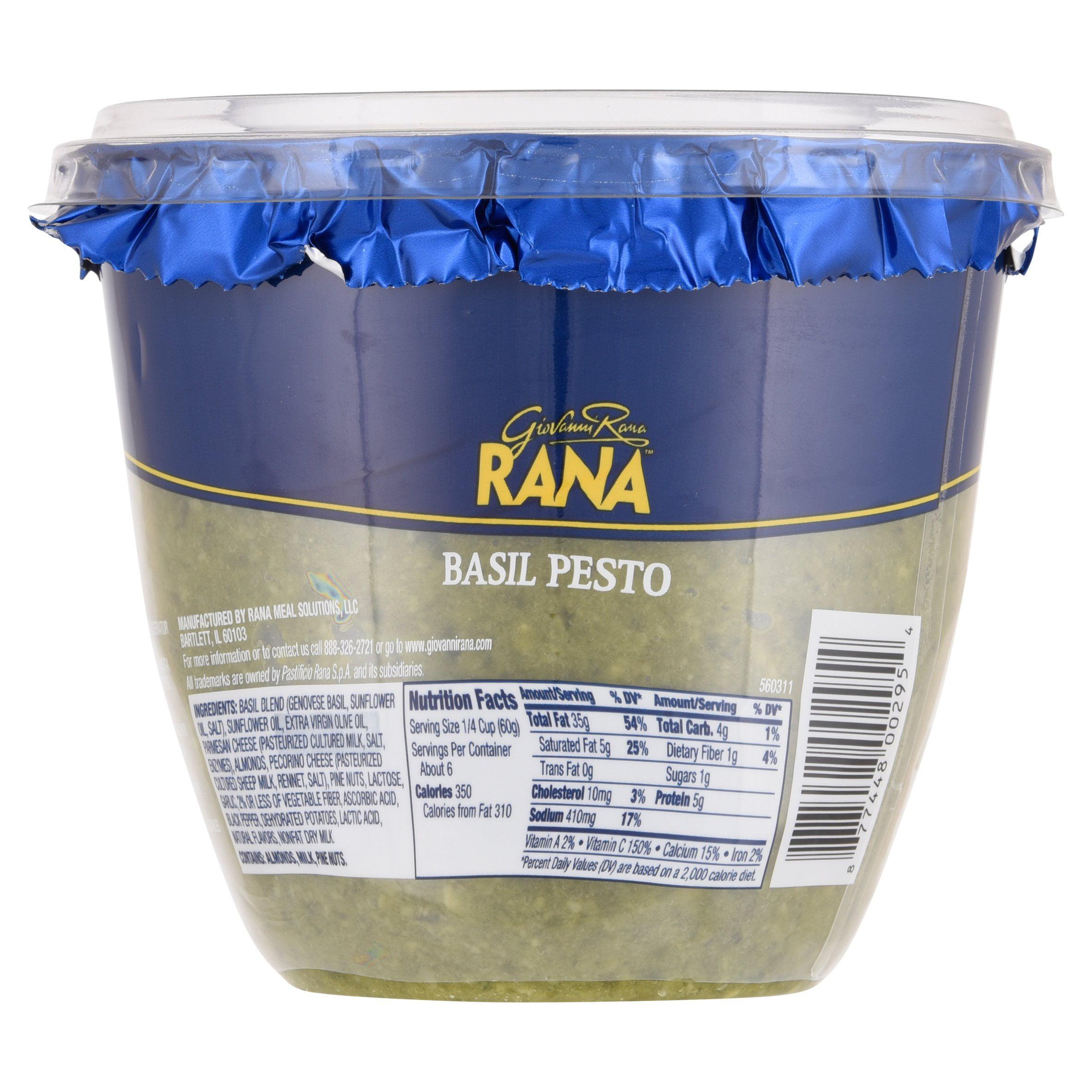La Rana Furniture Bedroom Rana Basil Pesto Sauce Family Size 125 Oz Walmartcom