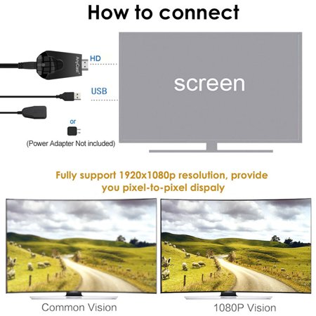 AnyCast K4-1 Wireless WiFi Display Dongle Receiver 1080P HD