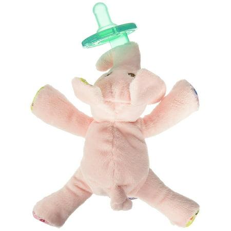 Wubbanub Pacifier, Ella Bella Elephant, USA, Brand Mary Meyer