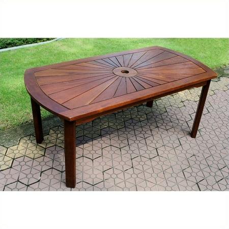 Pemberly Row Sunrise Patio Coffee Table - image 2 of 2