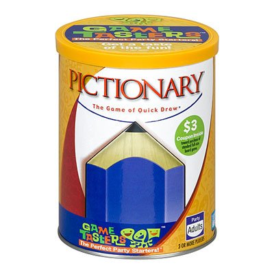 Pictionary Game Taster, By Hasbro Ship from US