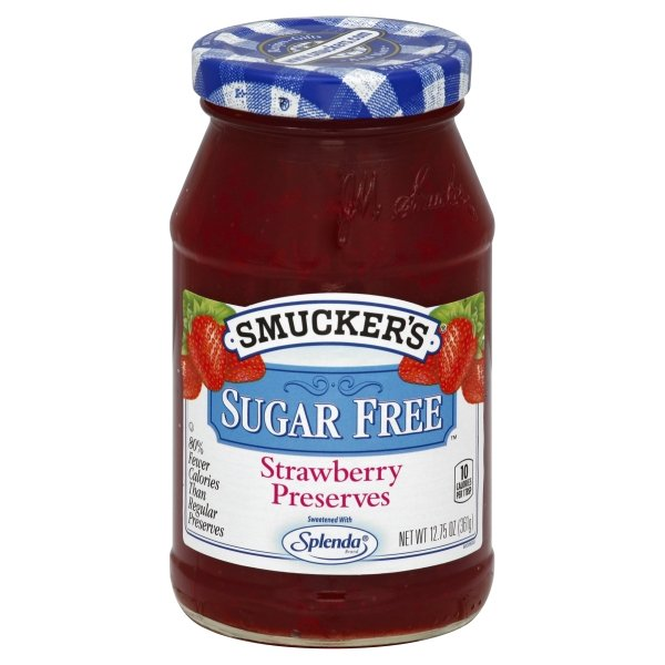 Smucker's Strawberry Sugar Free Preserves, 12.75-Ounce