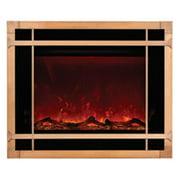 Amantii ZECL-39-4134-BLKSMITH Blacksmith Style Steel Overlay