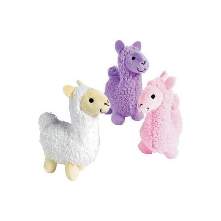 Fun Express - Plush Llama - Toys - Plush - Stuffed Zoo & Safari - 12 Pieces](Fun Bar Stuff)