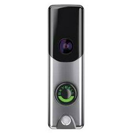 ALARM.COM ADC-VDB105 Satin Nickel Slim Line (Satin Doorbell)