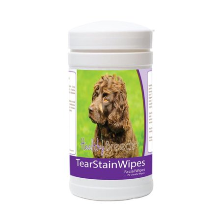 Healthy Breeds 840235173069 Boykin Spaniel Tear Stain Wipes - 70 Count - image 1 de 1