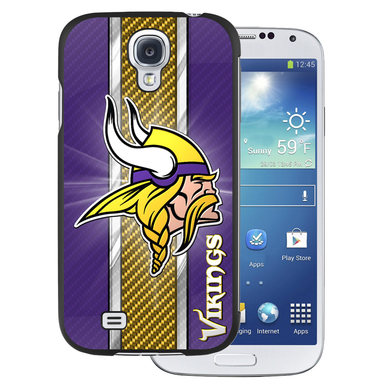 NFL Samsung Galaxy 4 Case - Minnesota Vikings