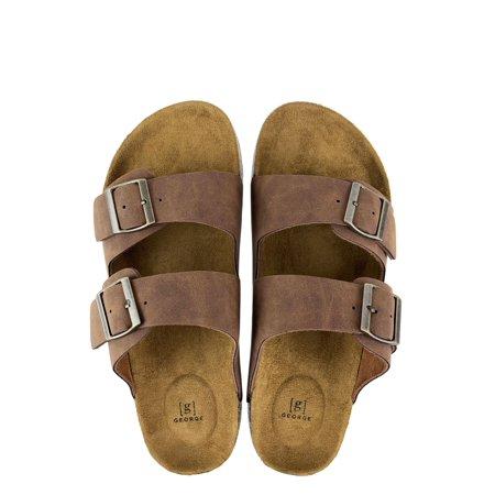 George Men's Buckle Strap Sandal