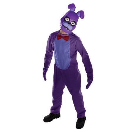 Costume Kids Five Nights at Freddy's Bonnie Costume, Medium, NOTE: Costume sizes are different from clothing sizes; review the Rubie's size chart when.., By Rubie's