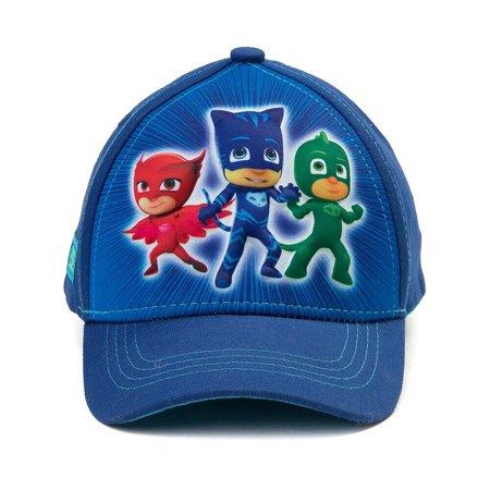 PJ Masks Toddler Sunny Baseball 3D Cap Hat Strap age 4-7 blue (Toddler Baseball Hats)