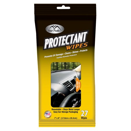 Auto Drive Protectant Wipes - 27 wipe
