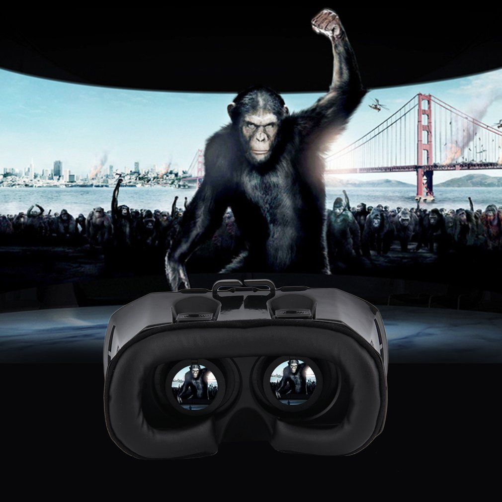 3D Box Virtual Reality Glasses Cardboard Headset Movie Game for Mobile Phone
