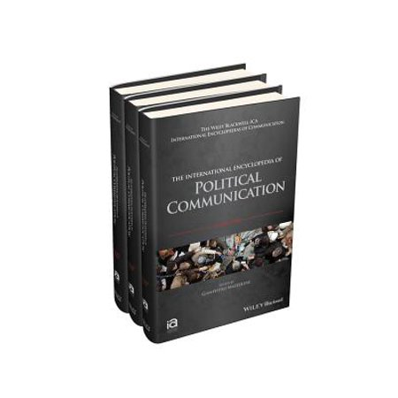 The International Encyclopedia of Political Communication, 3 Volume Set (Ikeda Kogyo Co)