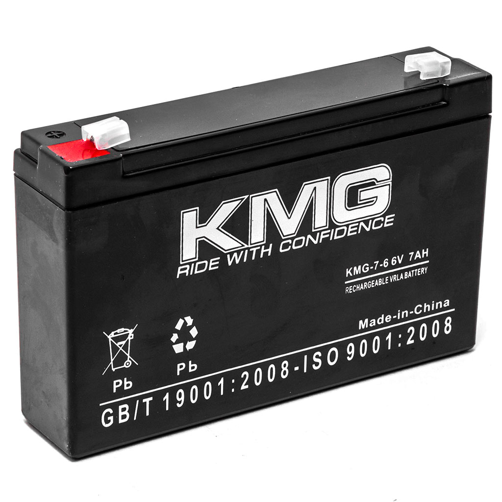 KMG 6V 7Ah Replacement Battery for Kung Long WP8-6S - image 3 de 3