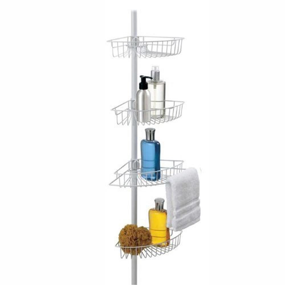 Bath Bliss 4-Tier Corner Shower Caddy by Kennedy International, INC.