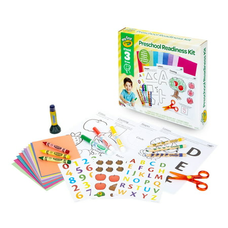 Crayola My First Preschool Readiness Kit, Ages 3+ - Winter Preschool Crafts