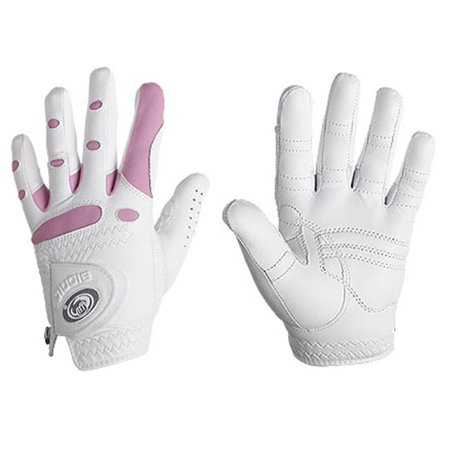 Bionic Glove Stablegrip Golf Women'S White/Pink Right Large Ggwrlp