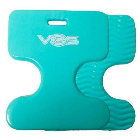 Vos Oasis Premium Water Saddle Floating Pool Toys Lake Summer Water Float Saddle 2 Pack (Seafoam Blue)