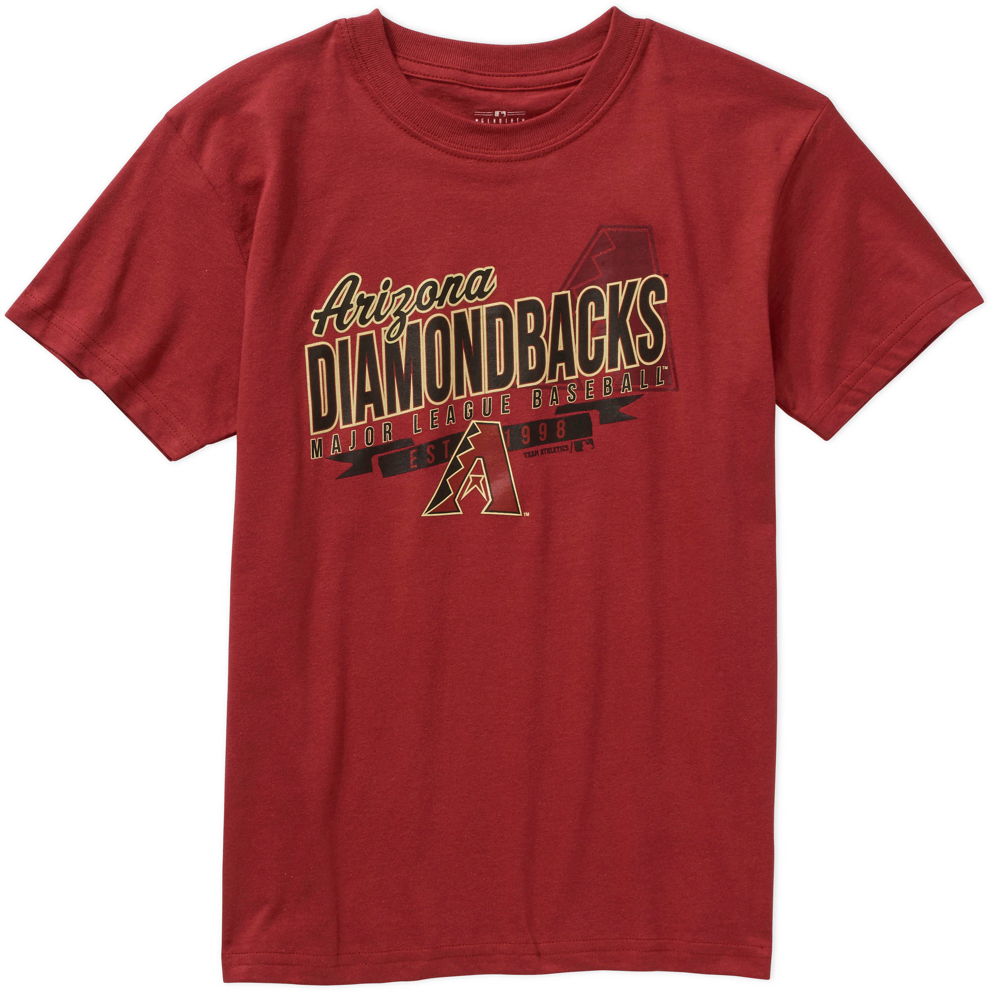 MLB  Boys' Arizona Diamondbacks Team Short Sleeve Tee