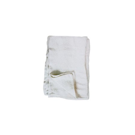 TIGER ACCESSORIES 35238 COTTON TERRY TOWELS  WHITE - Tigger Accessories