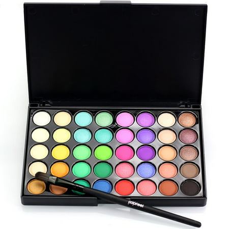 Ktaxon Professional 40 Colors Makeup Eyeshadow Palette Eye Shadow HighLight Shimmer with Eye