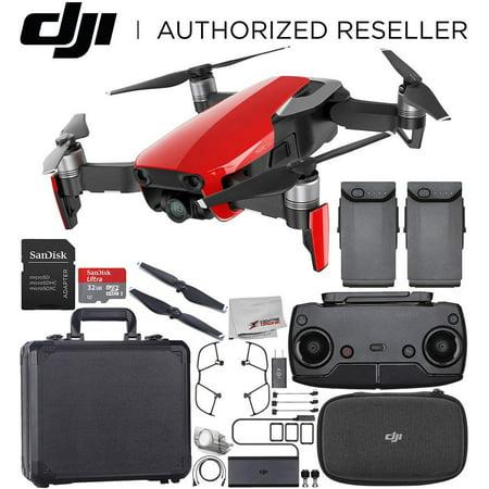 DJI Mavic Air Drone Quadcopter (Flamme Rouge) En Aluminium Hardshell Housse de Transport Essentiel Faisceau - image 10 de 10