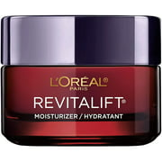Anti-Aging Face Moisturizer by LOreal Paris Skin Care, Revitalift Triple Power Anti-Aging Moisturizer with Pro Retinol, Hyaluronic Acid & Vitamin C to reduce wrinkles, firm and brighten skin, 1.7 Oz