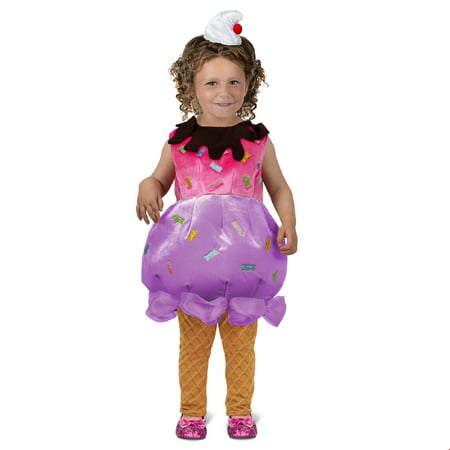 Toddler Ice Cream Sundae Halloween Costume (Ice Queen Halloween Costume Ideas)