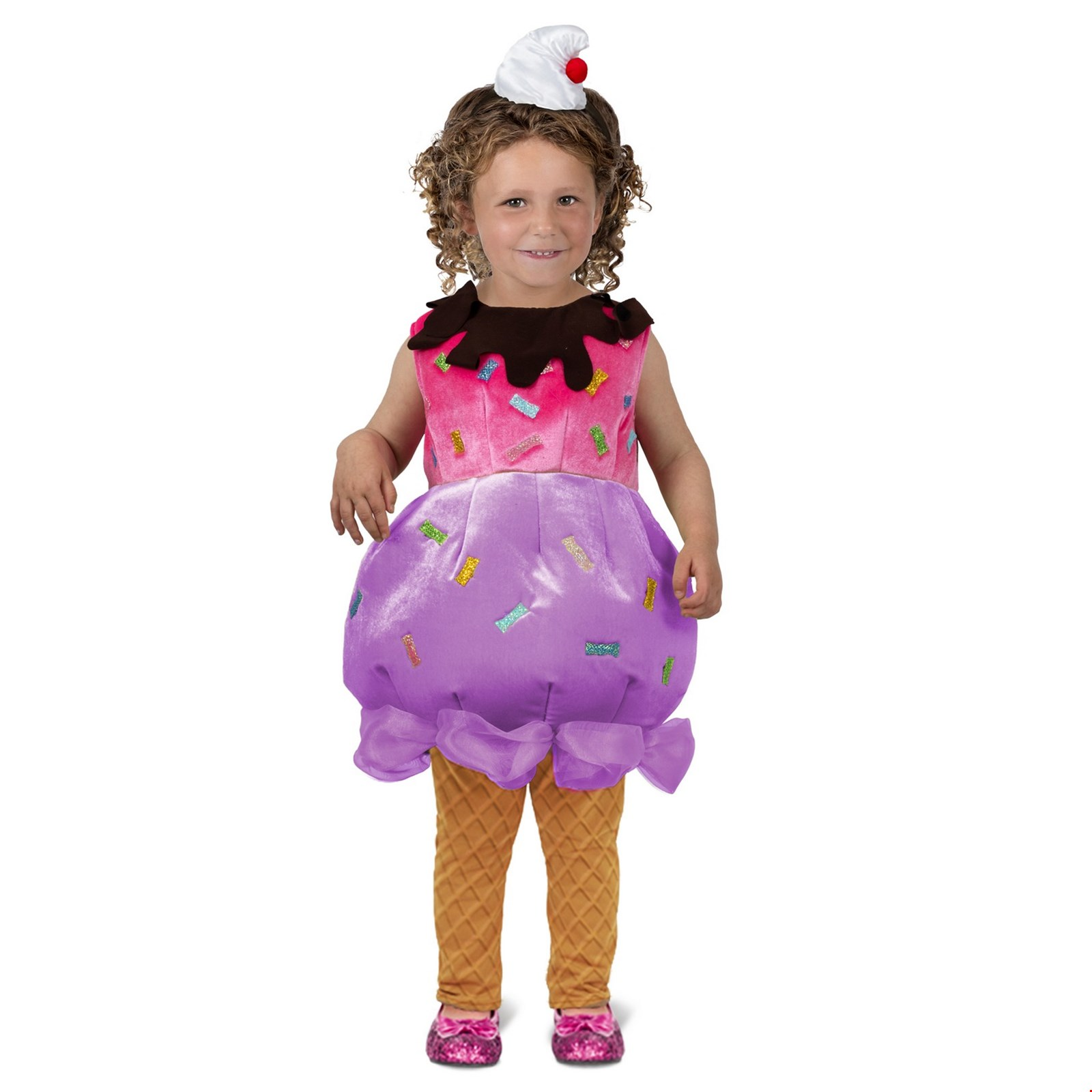 Toddler Ice Cream Sundae Halloween Costume