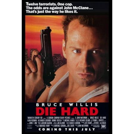 Die Hard Movie Poster Print  27 X 40