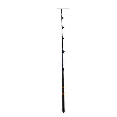 100 120 lb saltwater fishing rod with all roller guides for Fishing pole guides