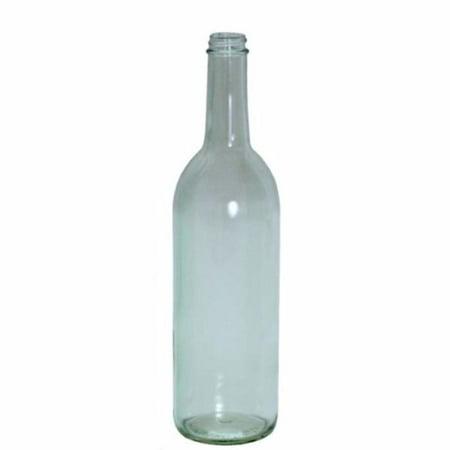 750ml Clear Glass Claret Bottles, screw top](Clear Glass Bottles)