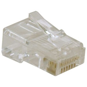 Cat5 Intercom - Tripp Lite RJ45 for Solid / Standard Conductor 4-Pair Cat5e Cat5 Cable 10 Pack