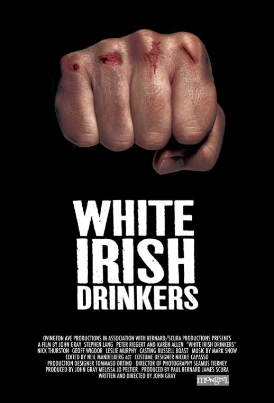 White Irish Drinkers Movie Poster Print (27 x 40) by Pop Culture Graphics