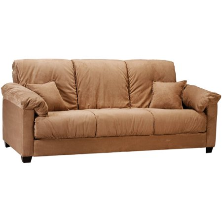 montero convert a couch futon sofa bed mocha