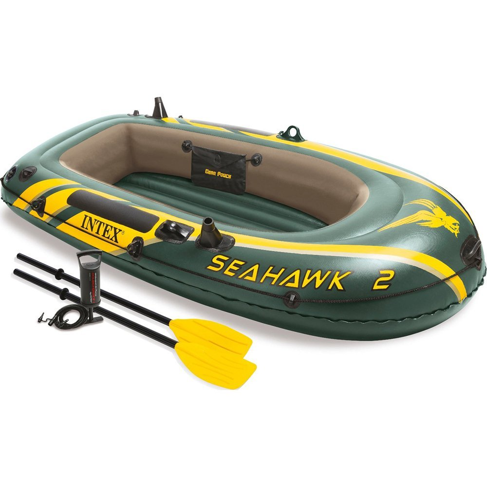 Intex Recreation Seahawk Inflatable Boat Set - 2 Person, ...