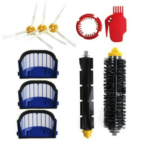 Balayeuse en plastique de brosse de filtre d'accessoires d'aspirateur de robot de balayage pour la série d'iRobot Roomba 600 - image 6 de 9