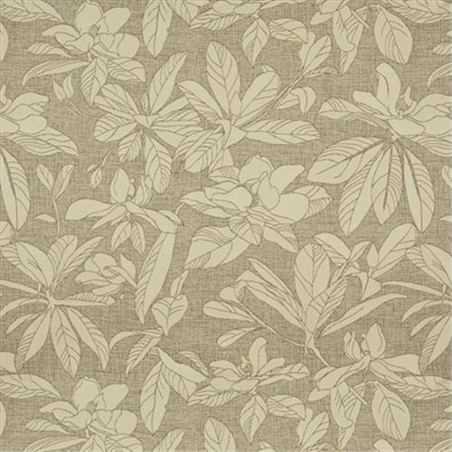 Designer Fabrics K0130A 54 inch Wide Beige And Brown Floral Leaves Woven Solution Dyed Indoor & Outdoor Upholstery Fabric