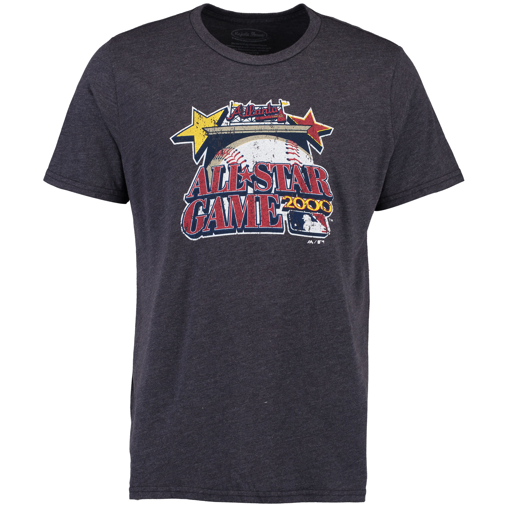 Atlanta Braves Cooperstown All-Star Exclusive T-Shirt - Navy