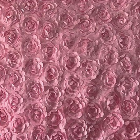 3D Satin Rose Wedding Carpet Large Aisle Floor Flower Rug Festival Party Decoration](Fall Festival Decorations)