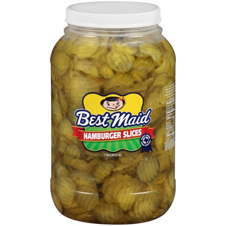 Best Maid® Hamburger Slices 1 gal. Plastic Jar (Best Maid Pickles Jobs)