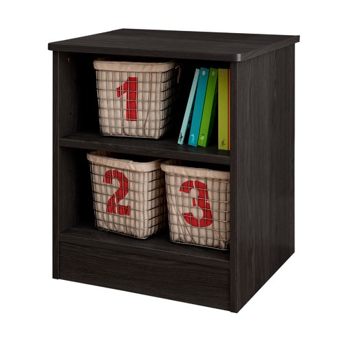South Shore Smart Basics Open Shelf Nightstand, Multiple Finishes