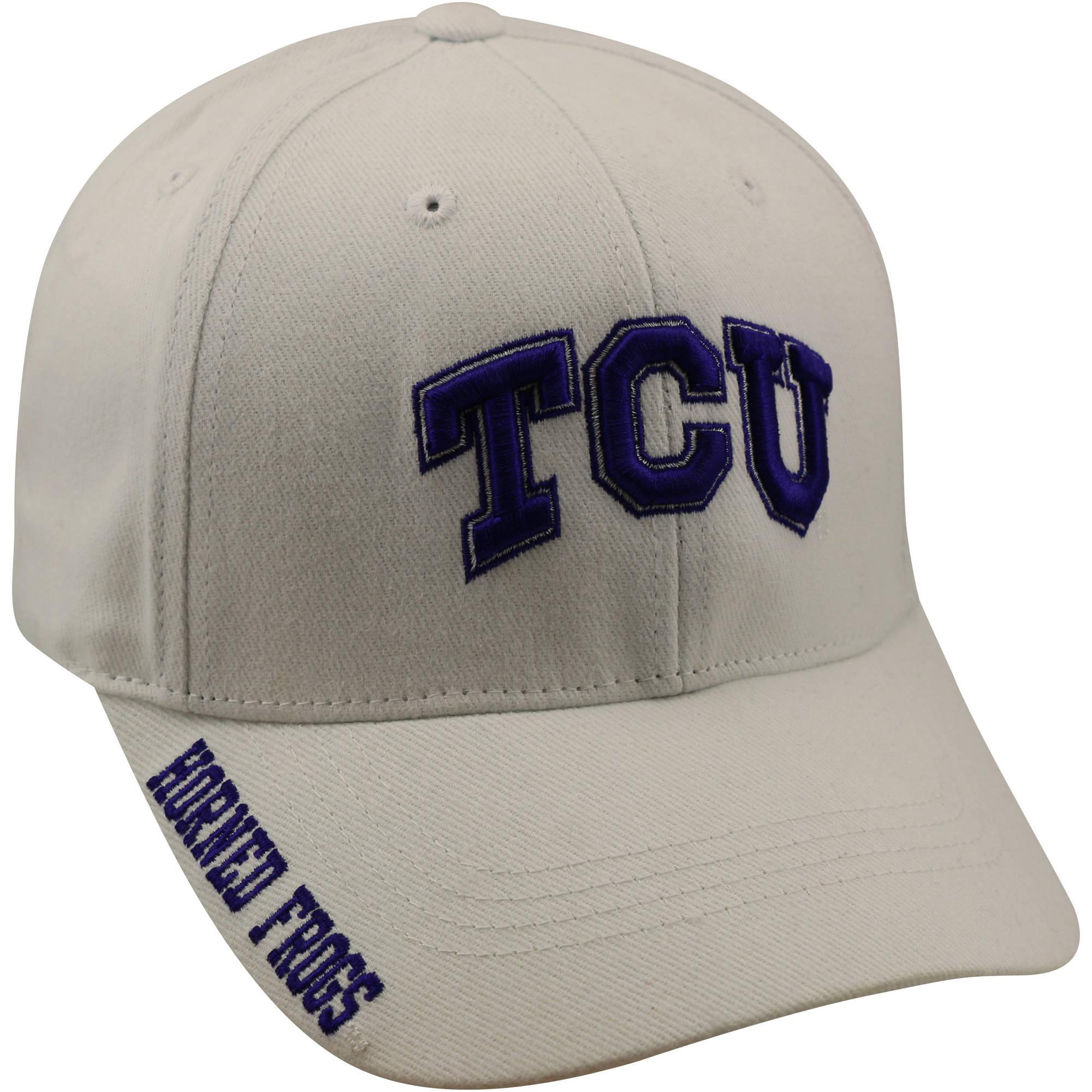 NCAA Men's TCU Horned Frogs White Cap