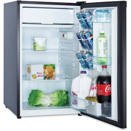 Avanti RM4416B 4.4 Cu Ft Compact Refrigerator, Black ()