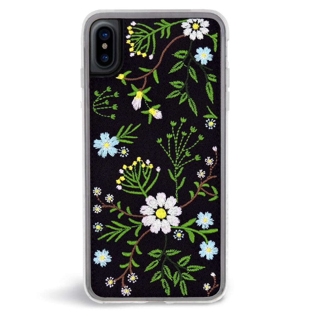 on sale eccf3 6cd9b Zero Gravity Apple iPhone X Romance Phone Case - Embroidered Botanical  Design - 360° Protection, Drop Test Approved