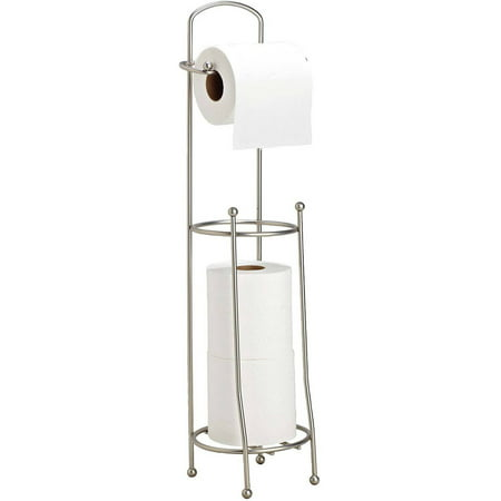 Bath Bliss Toilet-Tissue Holder/Dispenser, Satin Nickel