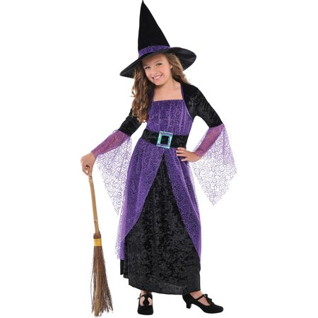 Halloween Witch Potions (Amscan Girls Pretty Potion Witch Costume - Medium)