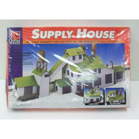 Life Like 1398 HO Supply House Building Kit